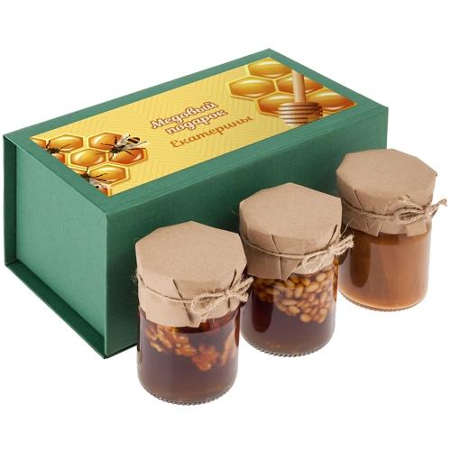 Именной подарочный набор «Медовый подарок» от 1 980 руб