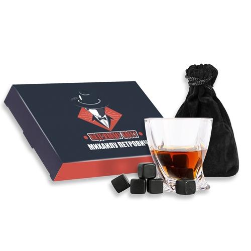 Именной набор камней для охлаждения напитков «Надежному боссу» от 1 740 руб