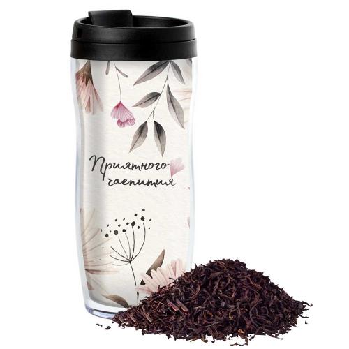 Чай в термостакане с Вашим текстом «Нежность» - 1